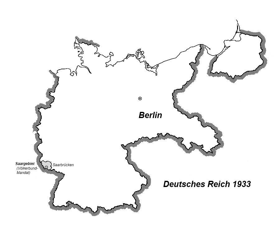 Deutsches Reich Karte.Karte Deutsches Reich 1933